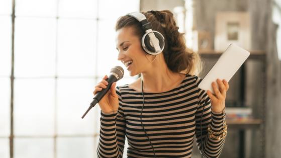 Woman singing: EP vs LP