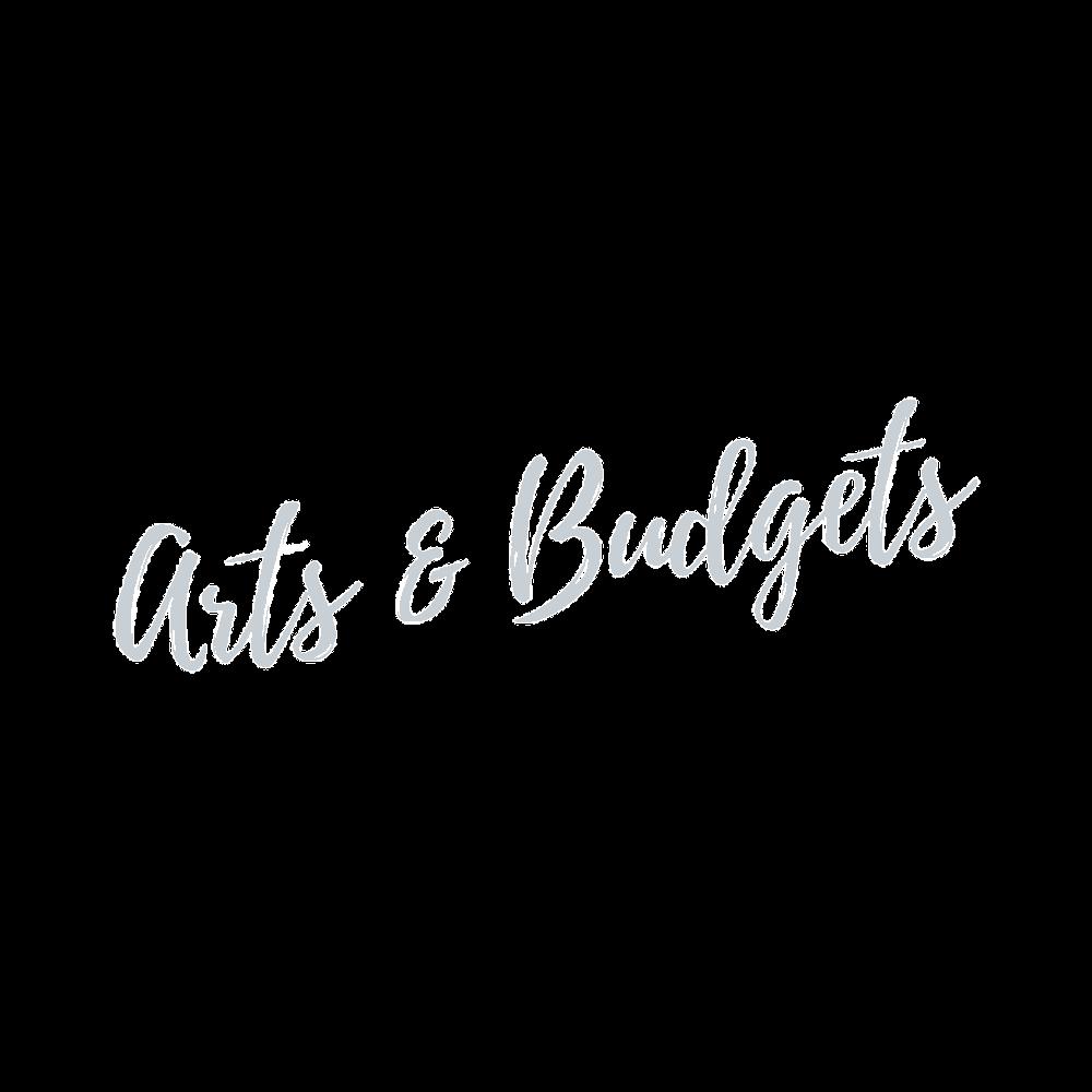 arts and budgets grey logo